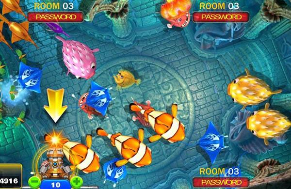 ยิงปลาออนไลน์-ตัวเกม