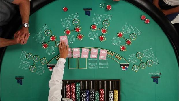Texas Hold'em-โต๊ะเดิมพัน