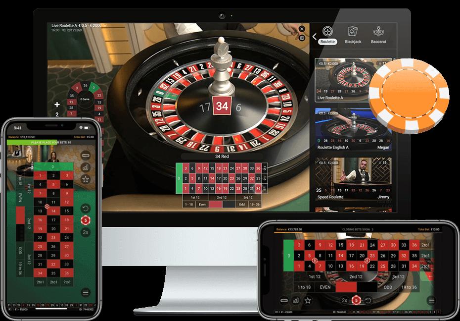 Live Casino-มือถือและพีซี